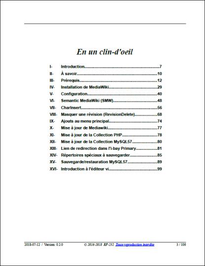SME-9.2 & MediaWiki En un clin-d'oeil